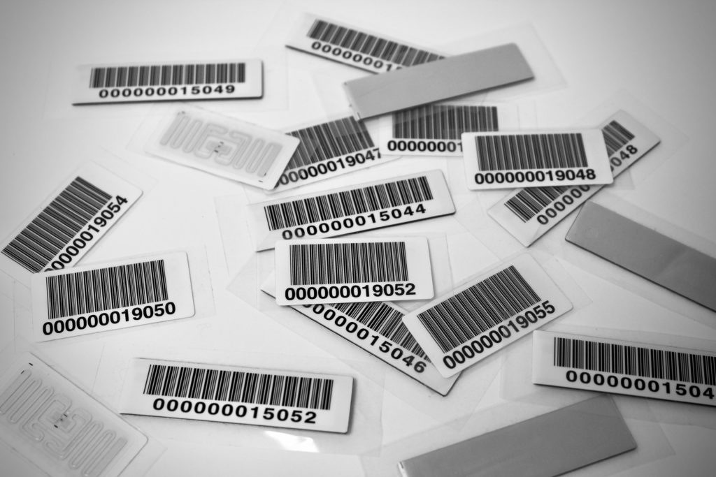 RFID tags used for RFID asset tracking