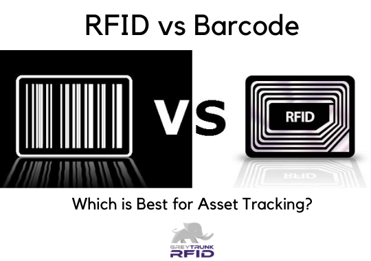 RFID vs Barcode - Which is best for fixed asset tracking